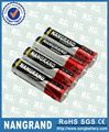 Super power alkaline aa batteries with ROHS/CE