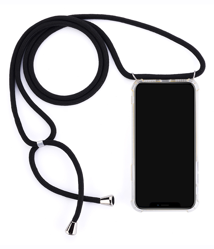 Transparent Lanyard Necklace Shoulder rope case for huawei p20 lite mate 20 p30 <strong>pro</strong>