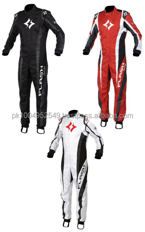Flash Gear SIF Approved Kart Suit (Customized) Racing Suit, CIK/FIA Professional Karting Ride
