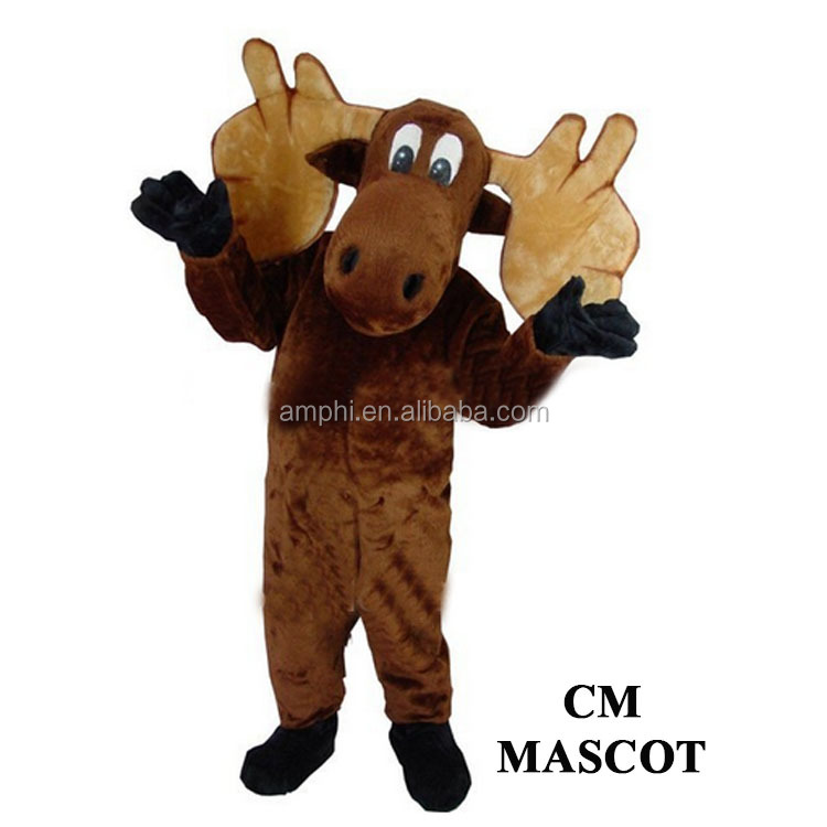 china professional moose deer cartoon character costumes