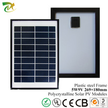 Small Size Portable Solar Panel/5W Poly Solar Panel/5W9V Solar Panel Photovoltaic