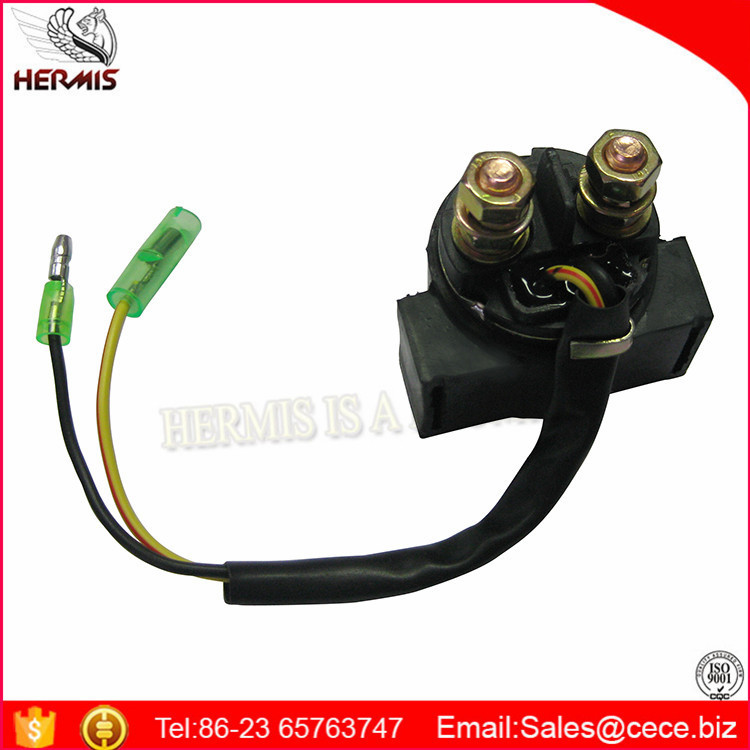 Chinese Motorcycle Spare Parts 12V Starter Relay CG125