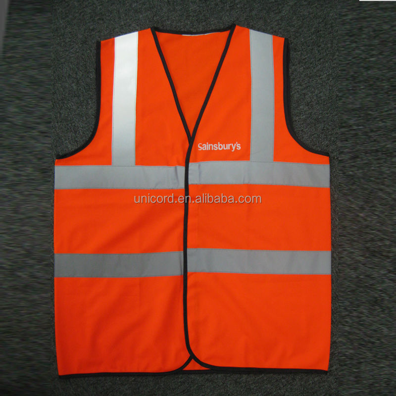 reflective safety vest with logo