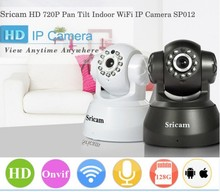Sricam SP012 OEM/ODM wireless wifi 3g remote ip camera with sd card HD p2p wifi recordable security ip camera With two-way audio