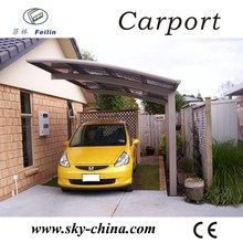 Top quality aluminum alloy framework Car park japanese carport
