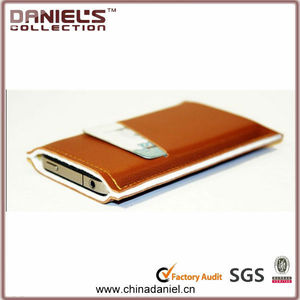 Simple design with Credit card holder mobile phone felt case
