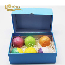 Custom free sample bath salt packaging ball