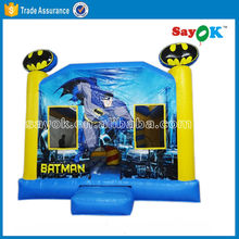 spiderman inflatable bounce house kids play game air bouncer commercial bouncy castle