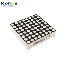 Diameter 3mm dot matrix 8x8 1.2 inch common cathode DIP 16 pin blue led display