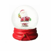high quality resin snow globe custom Christmas snow globe for decoration