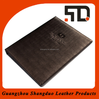 Manufacturer Realiable Quality Economic Restaurant Leather Menu Cover