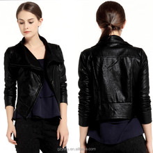 Women plus size leather jackets manufactures