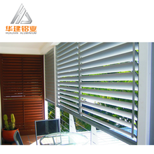 Adjustable Removable powder coated Aluminum profile for Rolling Decorative Blinds and Shutters for Window