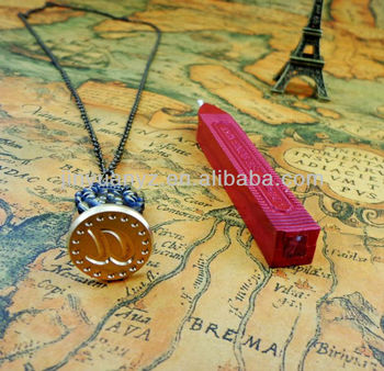 special custom necklace sealing wax stamps