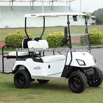High quality 3KW 48V golf buggies and electric golf buggy with rear flip flop seat from OEM factory