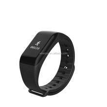 CE ROHS Passed Fitness Tracker Wristband Pedometer Heart Rate Monitor Healthy Smart Bracelet ID107 for Android & IOS