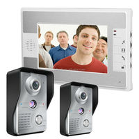 Color Smart home system interphone with camera for villa