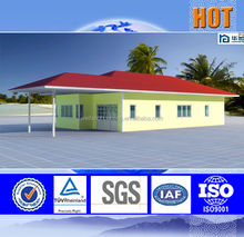 2015 Hot promotion new technology pre fab villa house thailand