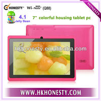 7 Android Mid Tablet with colorful housing