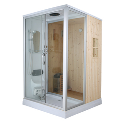 Cheap Hot Sale Top Quality Sauna room,Attractive Appearance Sauna And Steam Combined Room
