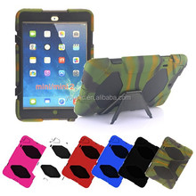 Military Builder Workman Heavy Duty Case, Shock Proof Touch Screen Case Cover For Ipad mini 3 2 1