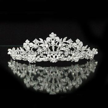 Pageant Butterfly Design Tiara Crown With crystal
