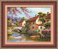 New 5d magic square diamond painting fairy tale home wall decoration