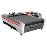 Good working effort Automatic Vibration Knife Cutting Machine leather pu cutting machine