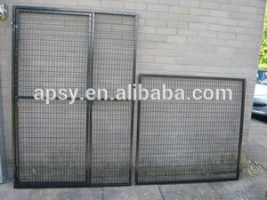 fully animal enclosed walk-in cages with welded wire top