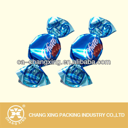 Manufacturer for Metallized foil <strong>PVC</strong> candy twist film,PET candy twist film wrapper