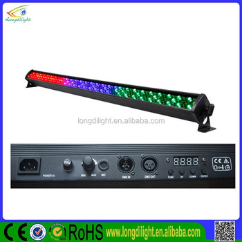 Professional Stage Light Show 252*10mm RGB LED Wall Washer Multicolor Rigid Strip American DJ Mega Bar