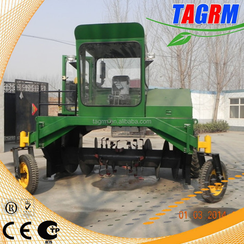 ISO, CE, GOST certified organic fertilizer compost turner machine/fertilizer turning machine