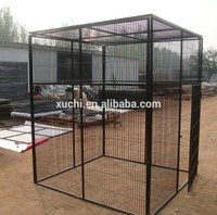 10x10x6 foot classic galvanized large outdoor dog fence dog kennel