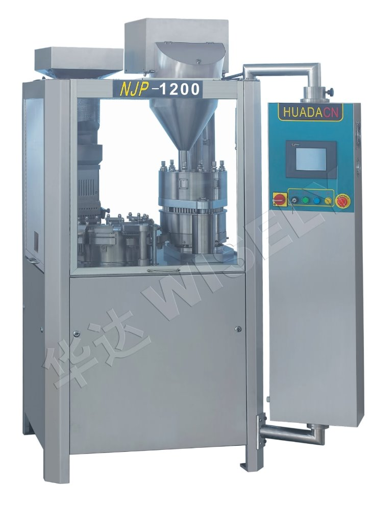 China Manufacturer Njp 1200 Capsule Filling Machine to fill powder
