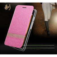 Protective Folio Case with Card Slot Holster and Premium PC Casing Flip Hard Case Cover Made For Huawei Y320/ Y511