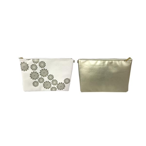 OEM Eco-friendly recycled cheap wholesale custom waterproof printed promotion plastic zipper clear pvc cosmetic bag