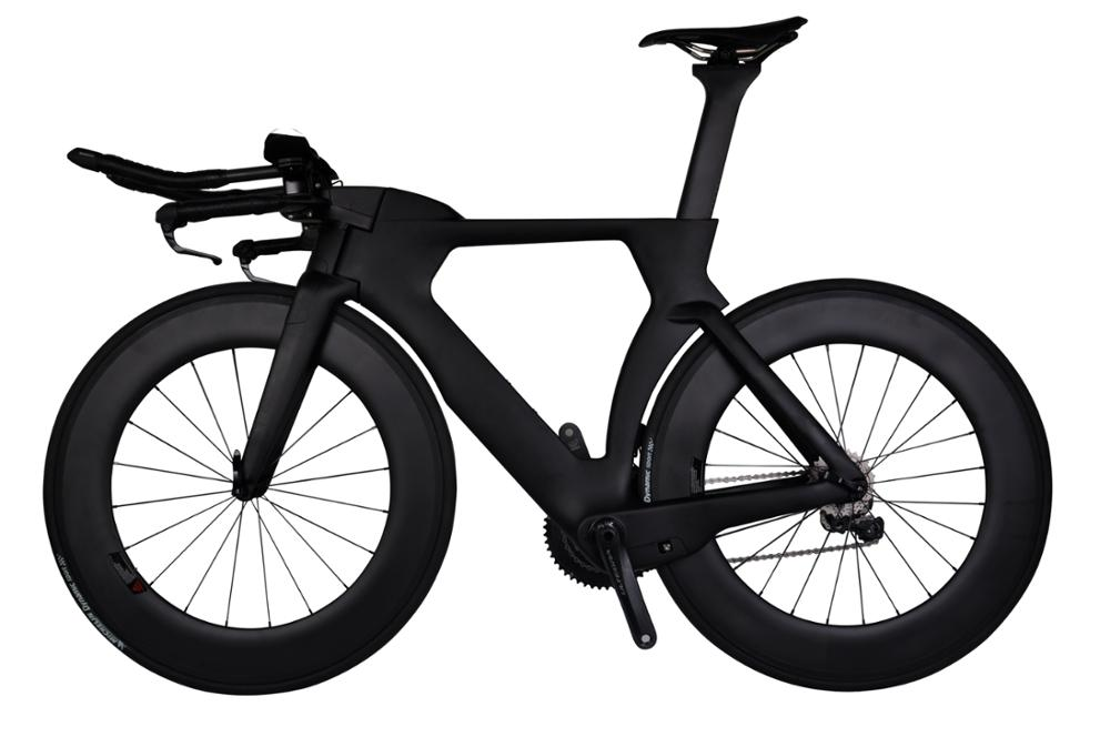 2017 new design tt DI 2 Baolijia Bikes Triathlon complete carbon road bike ultralight carbon time trial bike