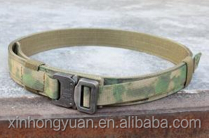 BH thickened 600D nylon green military tactical outside belts