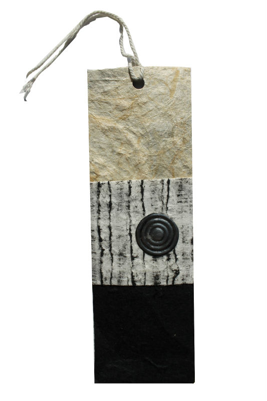 luxury handmade paper bookmark for books
