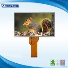 Factory Price 8.0 inch TFT LCD module with 800*480 resolution RGB interface 60 PIN made in China
