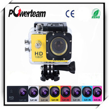 Camera Remote WiFi 1080P FHD Double screen bike cam waterproof pro sport camera Go beyond SJ4000 SJ5000