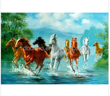 Running horse 400*600 mm New Fashion Lenticular 3D Picture Poster