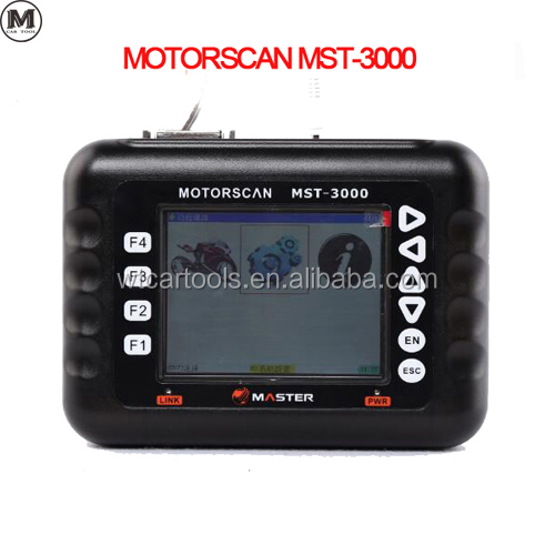 Master MST-3000 ad tech Motorcycle Scanner wrong code for motor van