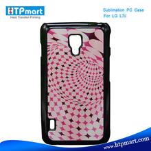 2D pc blank sublimation phone case hard case for lg optimus l7 ii dual p715