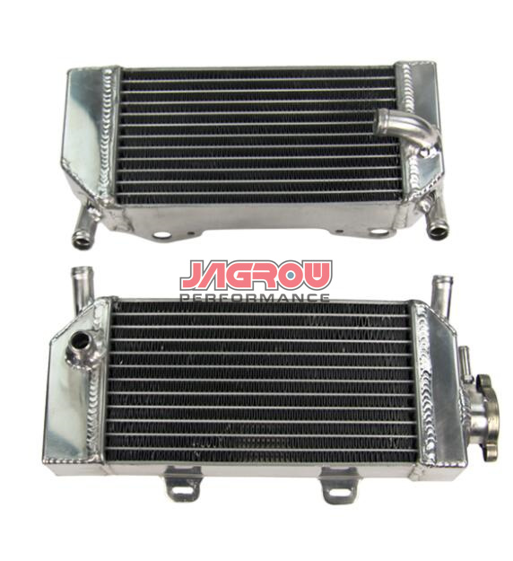 Aluminum motorcycle radiator for Honda CRF250 CRF250X CRF250R Fit In 2004 2005 2006 2007 2008 2009