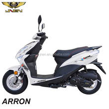ARRON 50CC JNEN Motor 2016 HOT Sale Sporty Model Motorcycle Moped Gasoline Scooter With CE EEC DOT Euro 2 HAWK