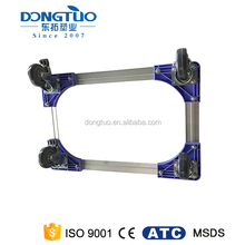 Dolly for factory transportation, heavy duty 4 wheel dolly, metal moving dolly