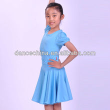 11328219 2013 Children's Shortsleeve Latin Dance Wear
