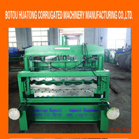 double deck corrugated and ibr roll forming machine