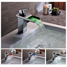 Bathroom Basin Faucet Water Glow Led Light
